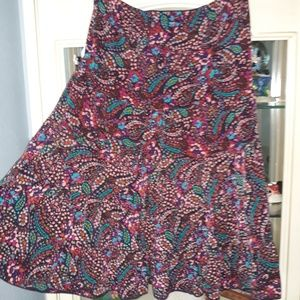 Parallel XL Ladies matching top and skirt